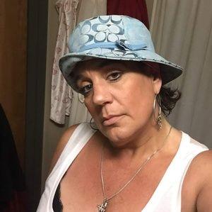 COACH MONOGRAM HAT